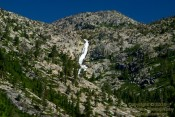Horsetail Falls makes for a great place for hiking with dogs in South Lake Tahoe