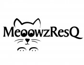 Logo for MeoowzResQ as displayed at Pet Hotels of America