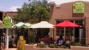 Stop at Louie's Corner Cafe when traveling with pets to Santa Fe