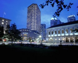 The Westin Copley Place pet-friendly hotel in Boston may be reserved at Pet Hotels of America